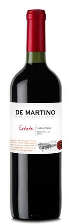 de Martino Carmenere Estate Organic